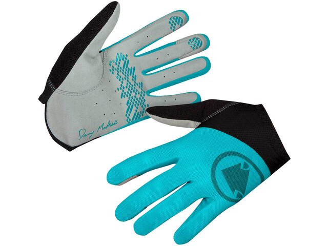 Endura Hummvee Lite Icon Gants Femme, pacific blue
